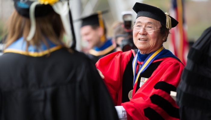 UCSB Chancellor Henry T. Yang (Photo: Matt Perko)